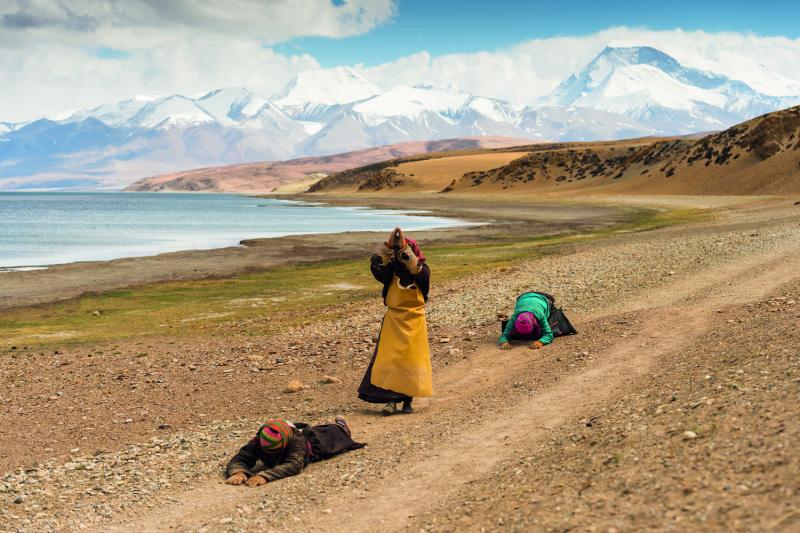 Lake Manasarowar, Tibet