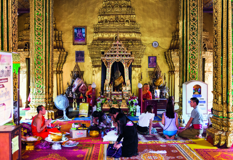 Wat Si Muang in Vientiane, Laos