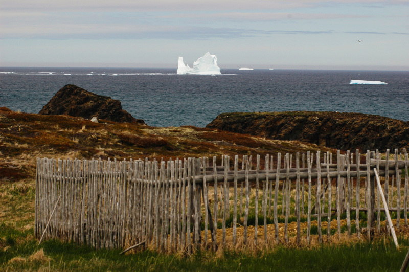 An iceberg passing by