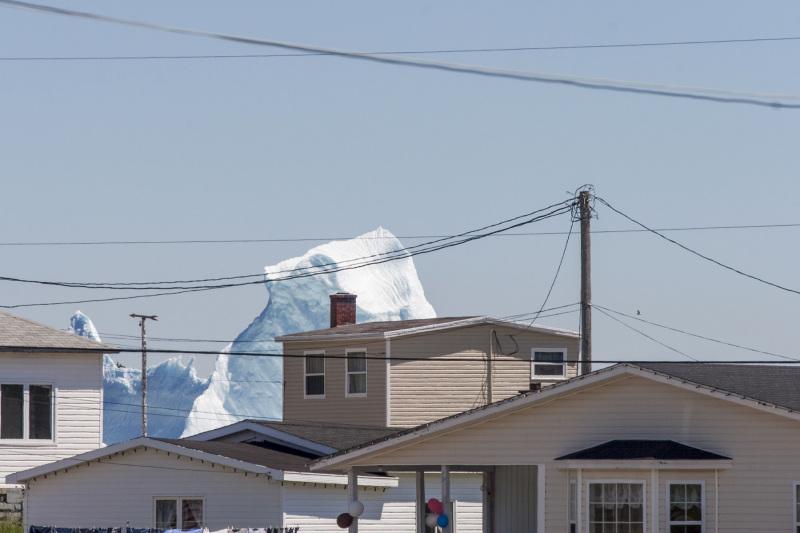 An iceberg in the neighbourhood