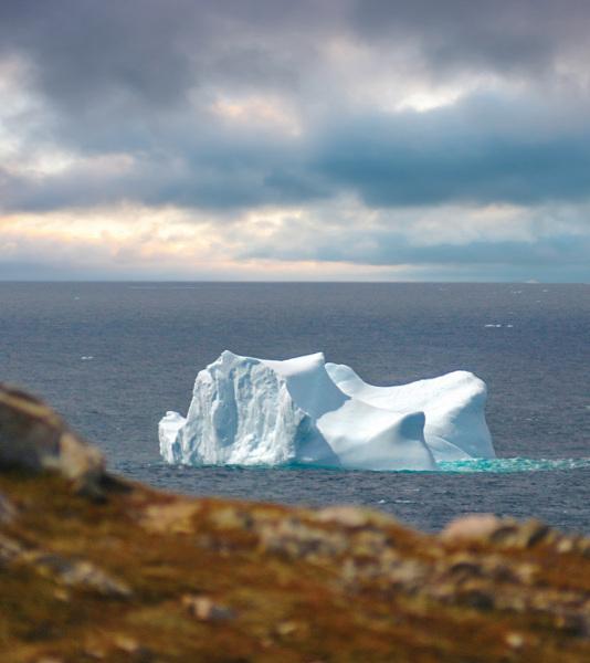 Iceberg skyline