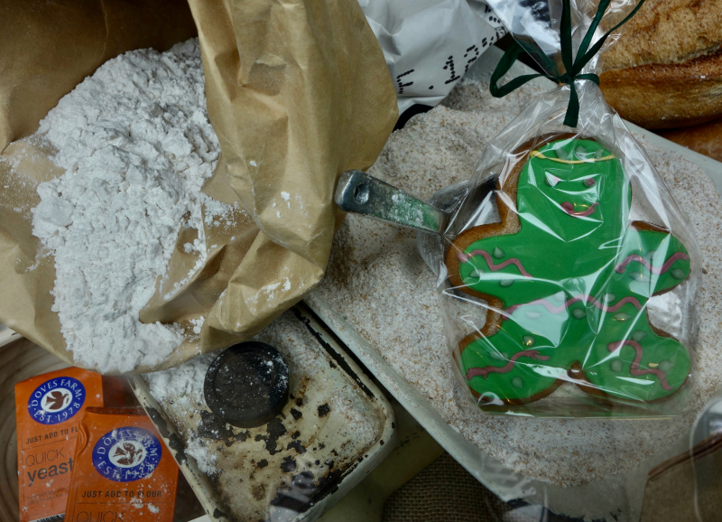 A Jack in the Green gingerbread man