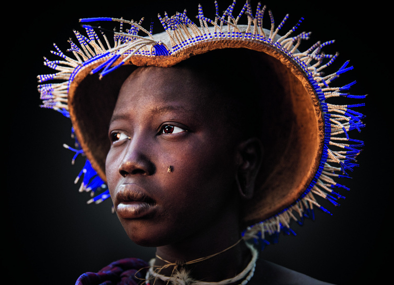 A Mursi woman in Ethiopia