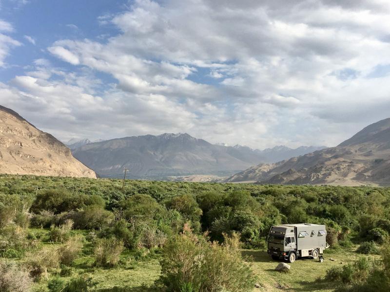 An epic campsite