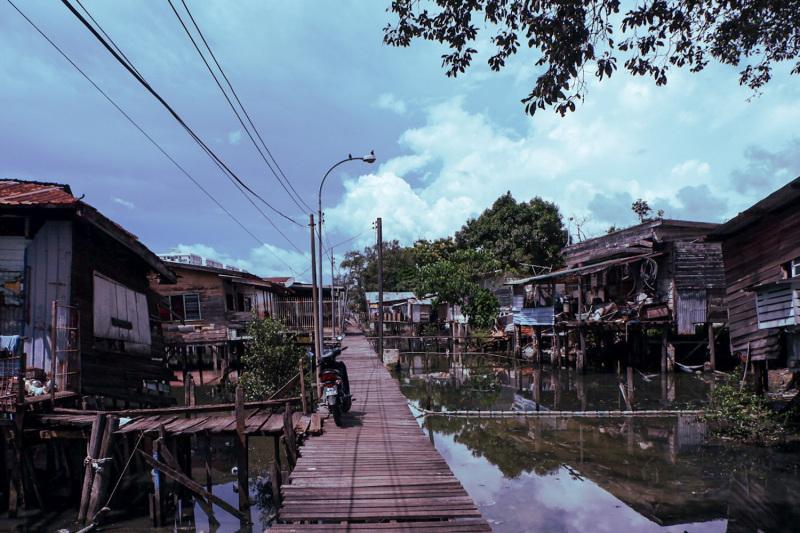 Stilt village or slum?