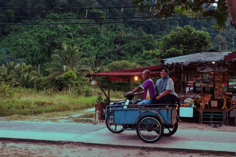Public transport, Tioman Island style