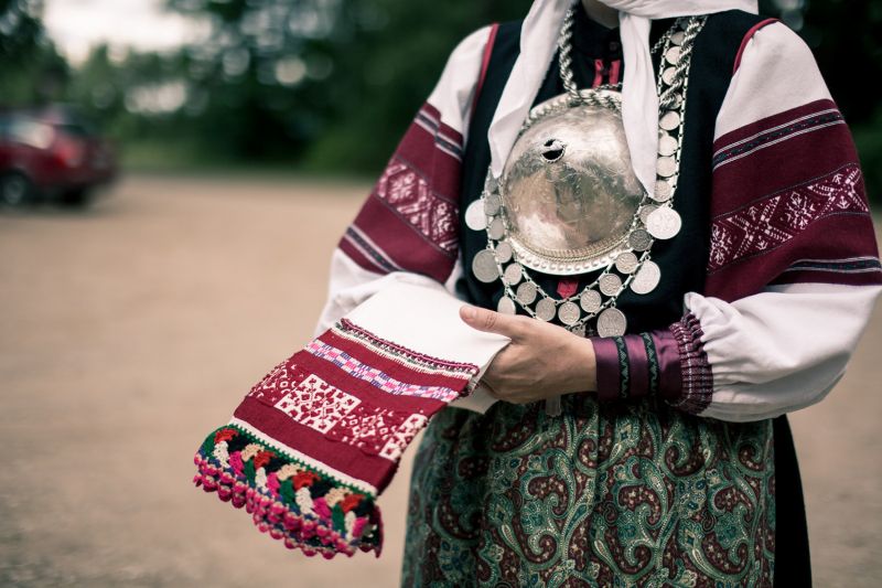 Traditional Seto costume