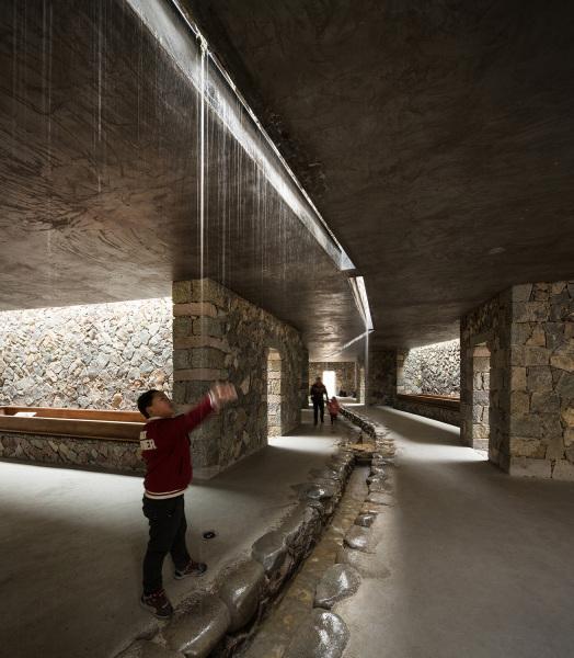 Inside the Hakka Indenture Museum in Shicang