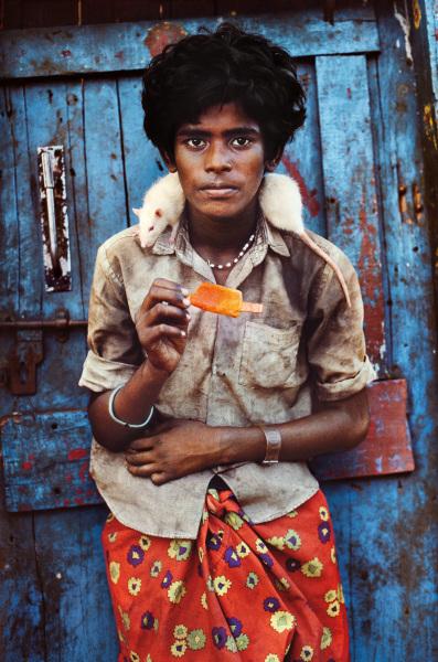A boy and his rat – Chennai, IndIa, 1996