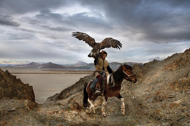 An eagle hunter – Ulgii, Altai Region, Mongolia, 2018