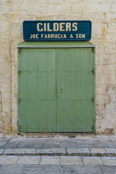 Gilders doorway, Valletta, Malta  (Peter Moore)