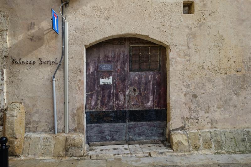 Garage entrance in Mdina (Peter Moore)