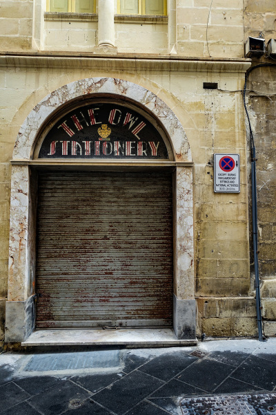 The Owl Stationery Shop in Valletta (Peter Moore)