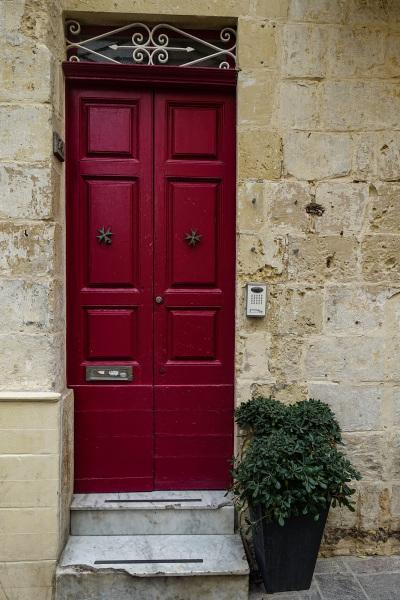 Residential door, Mdina, Malta (Peter Moore)