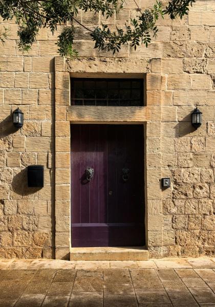 Residential doorway in Mdina (Peter Moore)