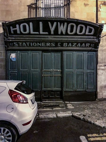 Hollywood Stationery Shop in Valletta (Peter Moore)