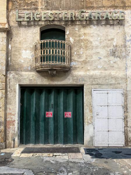 Leicester Garage, Valletta (Peter Moore)