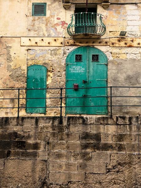 Industrial doorway, Valletta (Peter Moore)