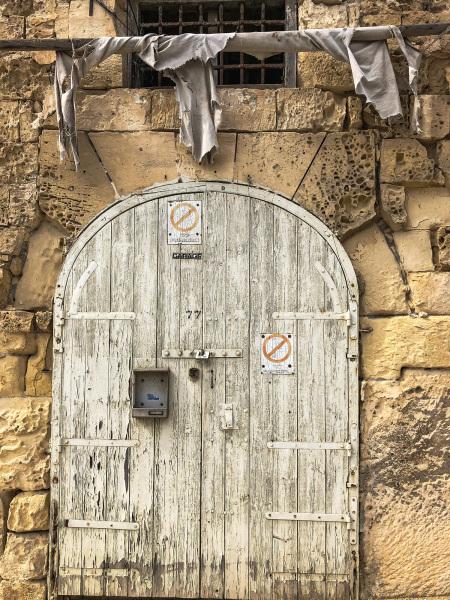 Old doorway in Valletta (Peter Moore)